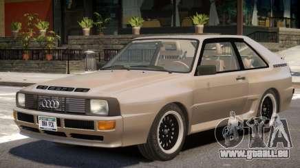 1983 Audi Quattro V1 pour GTA 4