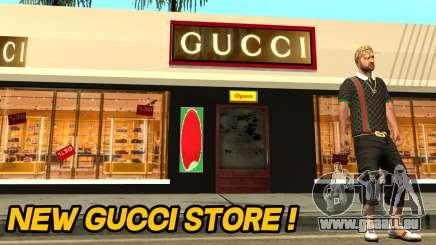 Neue Gucci Store für GTA San Andreas