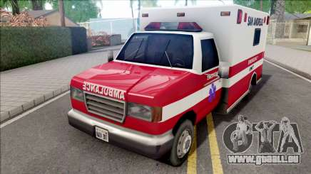 HD Decal for Ambulance pour GTA San Andreas