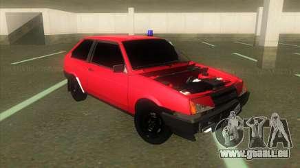 VAZ 2108 Hobo Rouge pour GTA San Andreas