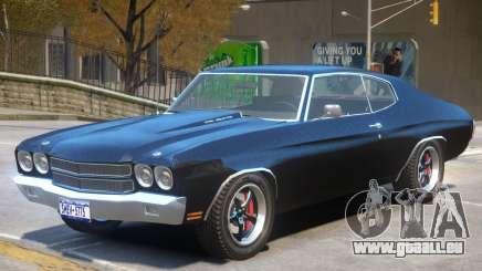 1975 Chevrolet Chevelle SS für GTA 4