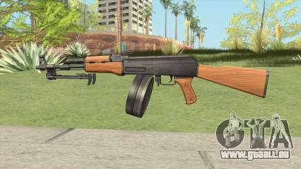 AK47 With Drum Magazine pour GTA San Andreas