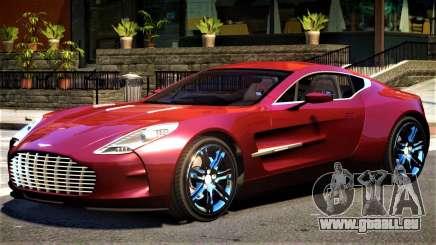 Aston Martin One 77 V1.1 pour GTA 4