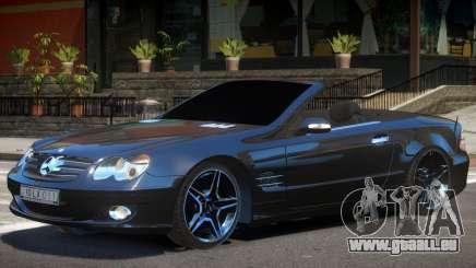 Mercedes SL500 Cabrio pour GTA 4