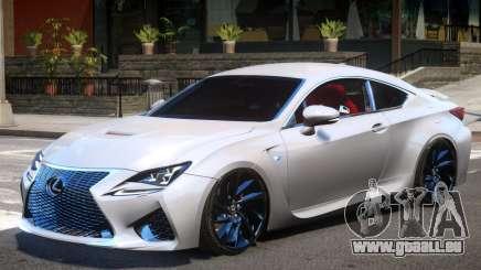 Lexus RC F V1 pour GTA 4