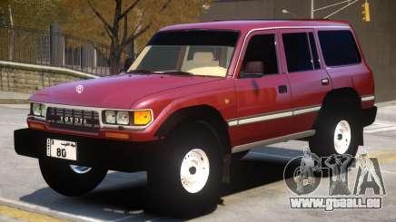 1997 Toyota Land Cruiser pour GTA 4