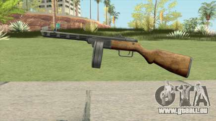 PPSH-41 Submachine Gun (WW2) pour GTA San Andreas