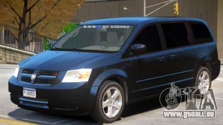 Dodge Caravan FBI pour GTA 4