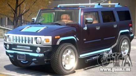 Hummer H2 V1 für GTA 4