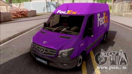 Mercedes-Benz Sprinter FedEX pour GTA San Andreas