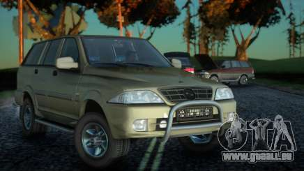SsangYong Musso 2.3 für GTA San Andreas