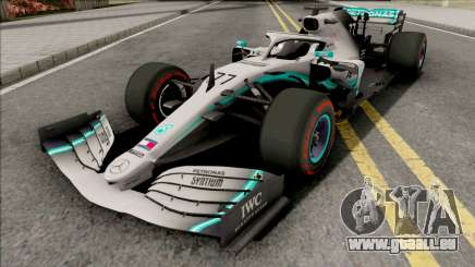 Mercedes-AMG F1 W10 2019 (C4 Tyres Red) pour GTA San Andreas