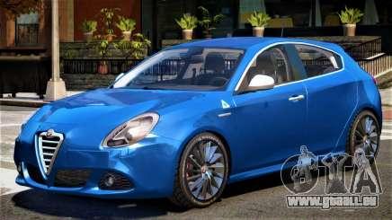 Alfa Romeo Giulietta V1 pour GTA 4