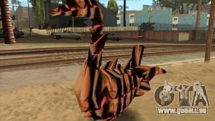Le professeur hervé thery sous la forme d'un shape-shifter-Swan pour GTA San Andreas