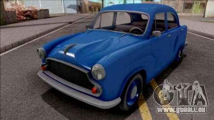 GTA V Weeny Dynasty Blue pour GTA San Andreas