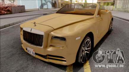 Rolls-Royce Dawn 2019 pour GTA San Andreas
