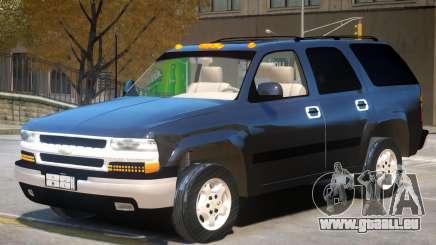 Chevrolet Tahoe V1.0 pour GTA 4