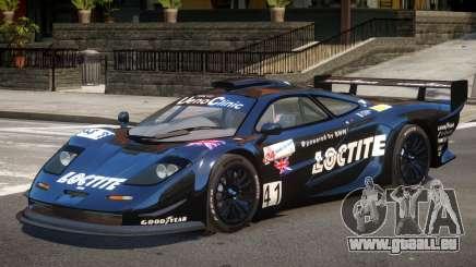 McLaren F1 V1.1 PJ4 pour GTA 4