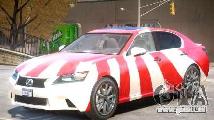 Lexus GS350 Upd PJ pour GTA 4