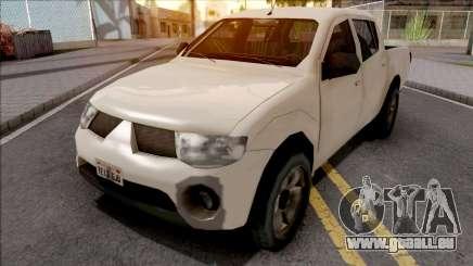 Mitsubishi L200 Triton 2010 pour GTA San Andreas