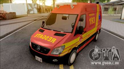 Mercedes-Benz Sprinter 2013 Ambulancia v2 für GTA San Andreas
