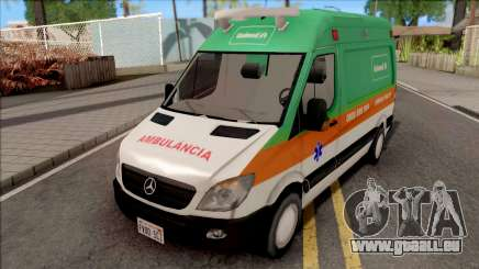 Mercedes-Benz Sprinter 2013 Ambulancia v3 für GTA San Andreas
