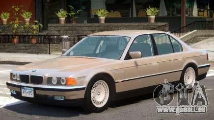 1994 BMW 750i E38 V1 pour GTA 4