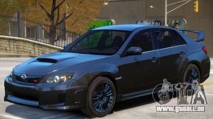 Subaru Impreza Upd pour GTA 4