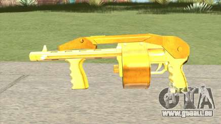 Combat Shotgun Gold (French Armed Forces) pour GTA San Andreas