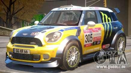 Mini Countryman Rally Edition V1 PJ4 für GTA 4