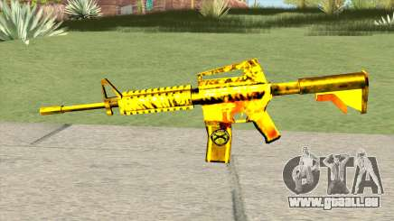 M4A1 Gold (French Armed Forces) pour GTA San Andreas