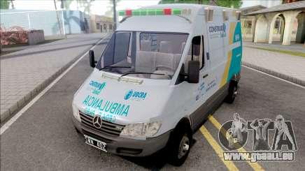 Mercedes-Benz Sprinter Ambulancia Uocra pour GTA San Andreas