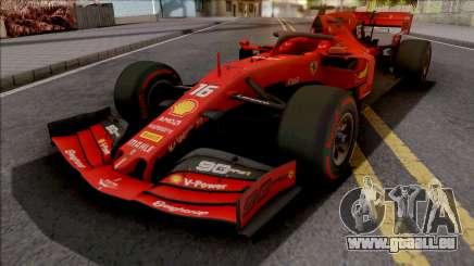 Ferrari SF90 F1 2019 Low Poly für GTA San Andreas