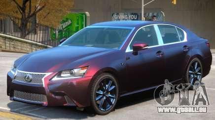 Lexus GS350 V1 pour GTA 4