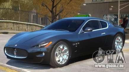 Maserati Gran Turismo S V1 pour GTA 4