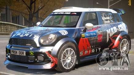 Mini Countryman Rally Edition V1 PJ6 für GTA 4