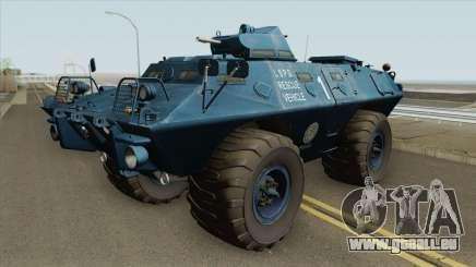 Cadillac V-100 Gage Commando (LSPD) für GTA San Andreas