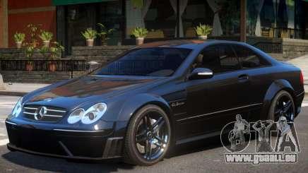 Mercedes CLK63 AMG V1 pour GTA 4