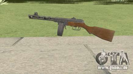 PPSH-41 (COD-WaW) pour GTA San Andreas