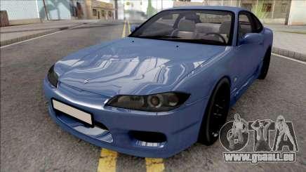 Nissan Silvia S15 Stock Blue pour GTA San Andreas