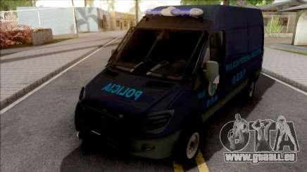 Mercedes-Benz Sprinter Policia Federal Argentina für GTA San Andreas