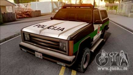 Lietuviska Police Ranger pour GTA San Andreas