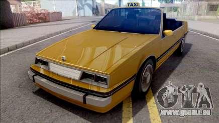 GTA IV Willard Cabrio Taxi pour GTA San Andreas