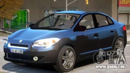 Renault Fluence V1 pour GTA 4