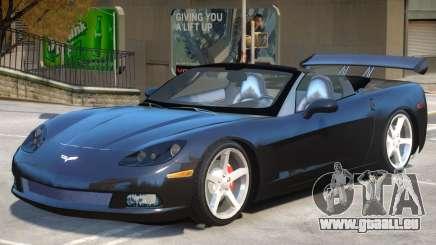 Corvette C6 Roadster für GTA 4