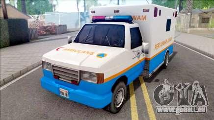 Ambulance Malaysia APM für GTA San Andreas