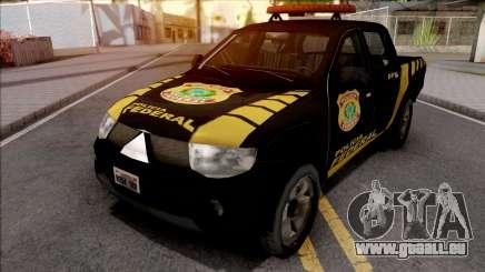 Mitsubishi L200 Triton 2010 Policia Federal pour GTA San Andreas