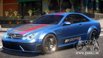 Mercedes CLK63 AMG V1 PJ2 pour GTA 4