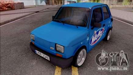 Fiat 126p Milkyway für GTA San Andreas