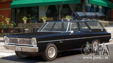 1965 Plymouth Belvedere R2 pour GTA 4